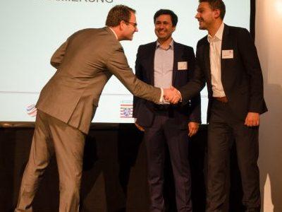 NanoWired gewinnt Auszeichnung bei hessenweitem Wettbewerb