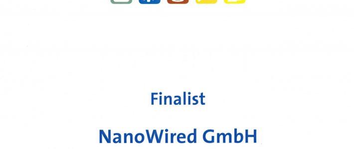 NanoWired wird Branchensieger Science beim  STEP AWARD 2018