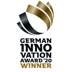 Winner beim German Innovation Award 2020